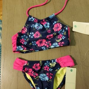 Toddler girl two piece swim suit